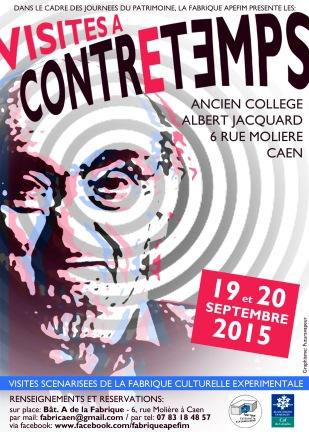 Affiche visites Jacquard